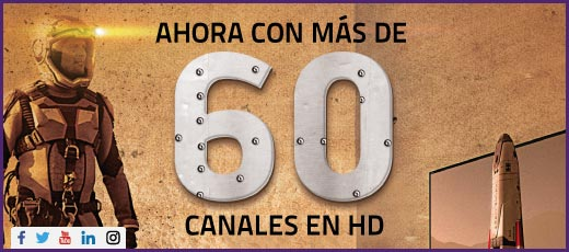 60 Canales HD